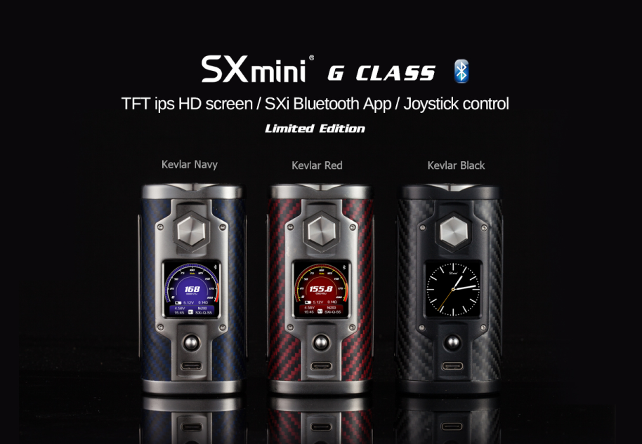 SXmini G Class Kevlar Series Limited Edition 1.png