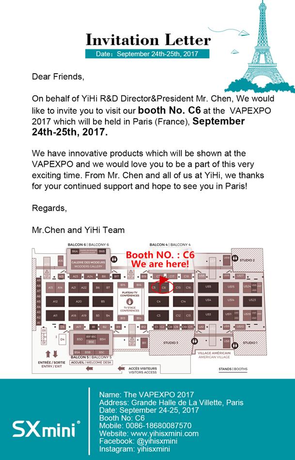 The vapexpo 2017 paris invitation letter 924 925 g stopboris Choice Image